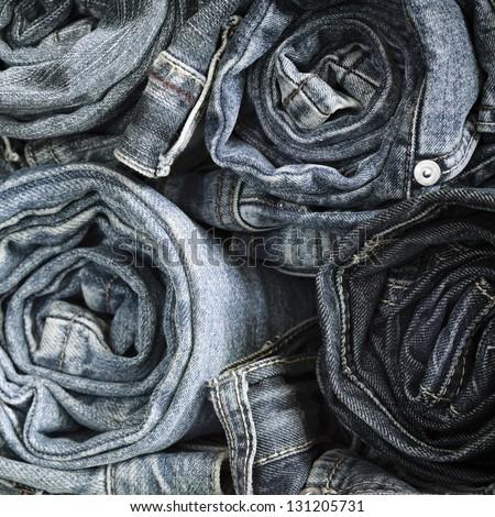 Blue Jeans - stock photo