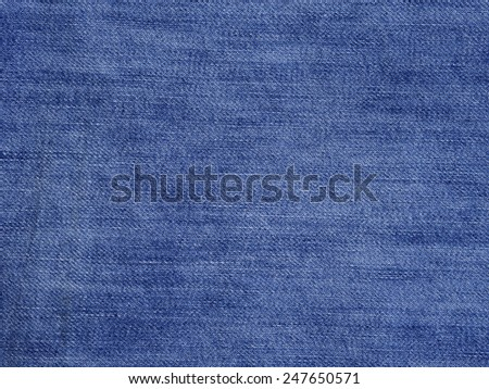 Blue Jeans background - stock photo