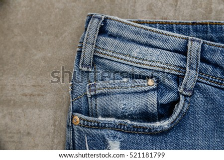 blue jeans ,Blue Jeans texture-gray background