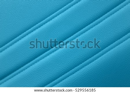 Blue leather for texture background from Office Chair
