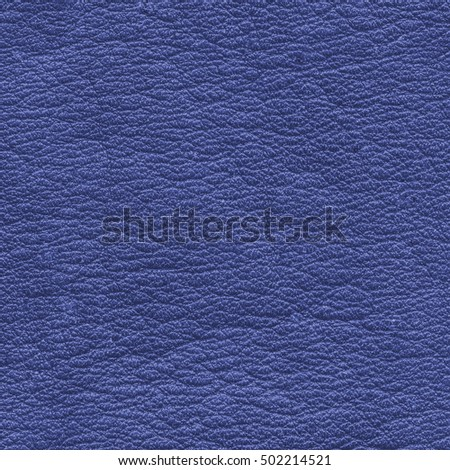 blue leather surface closeup as background