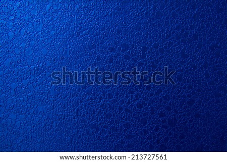 blue leather texture as background - stock photo