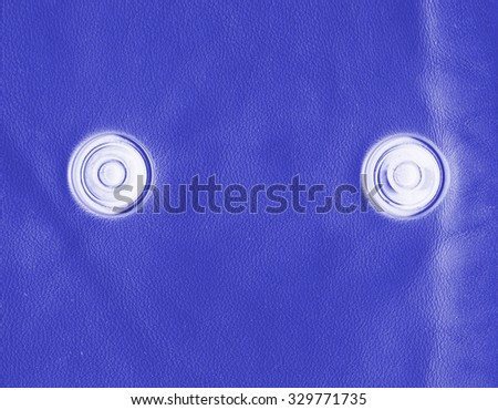 blue leather texture, buttons