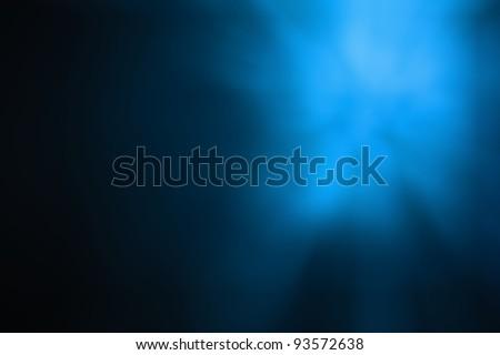 Blue light abstract - stock photo