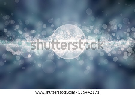 blue light abstract background - stock photo