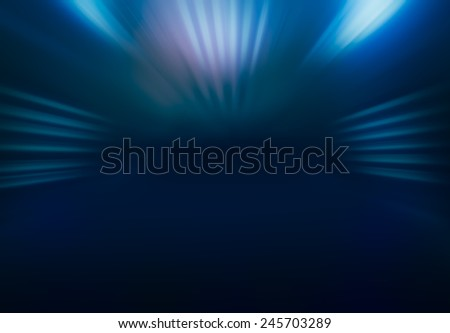 BLUE LIGHT BACKGROUND - stock photo