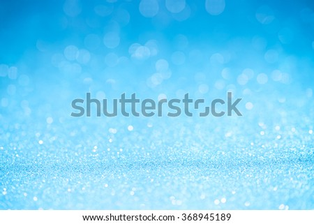 Blue light bokeh - It can be used for background for special occasions promotion campaign or product display - stock photo