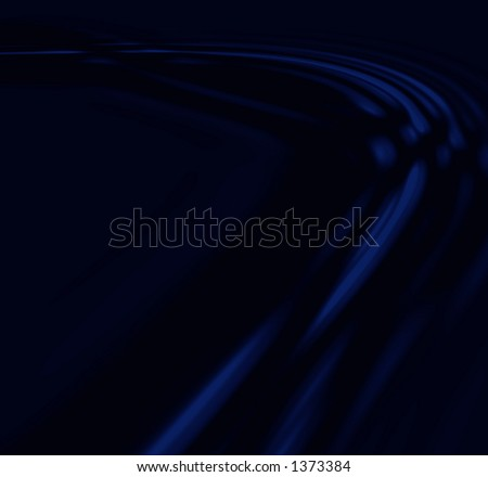 Blue lines - stock photo