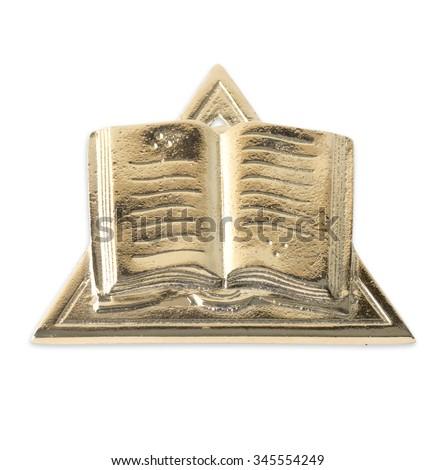 Blue Lodge officerJewel. Orator. Freemasonry - stock photo