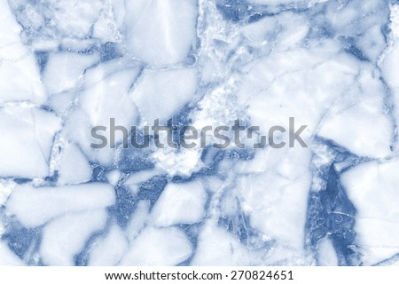 Blue marble, marble pattern on a surface that looks natural - stock photo