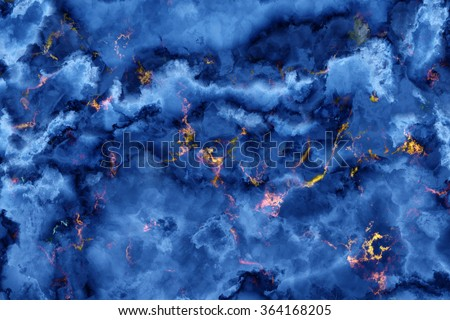 Blue Marble. Pattern stone slabs. Useful as background or texture for design. - stock photo