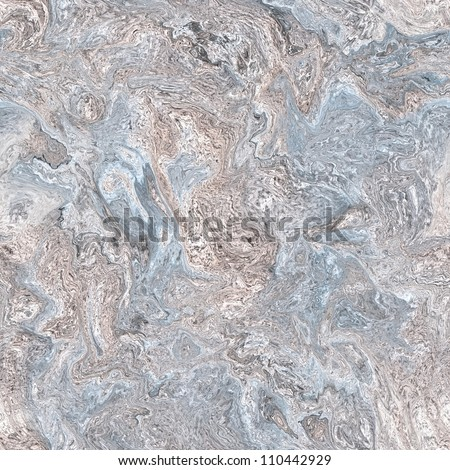 Blue marble seamless background - stock photo