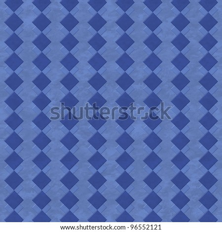 Blue marbled background with squares pattern