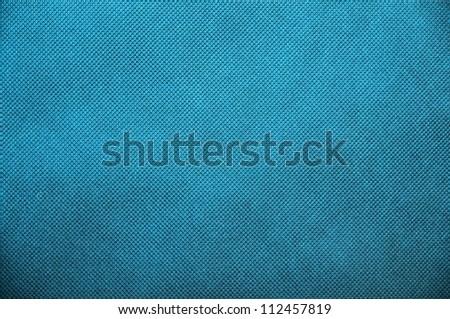 Blue material polipropylen texture or background - stock photo
