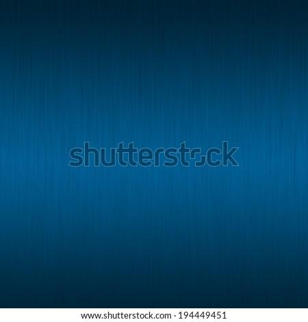 Blue Metal background (texture of  aluminum sheet) - stock photo