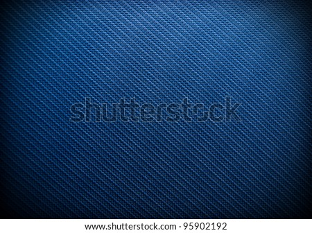 Blue Metallic Background