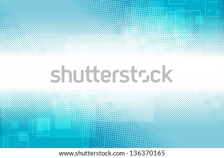 blue modern abstract background - stock photo