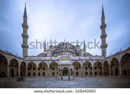 Blue mosque, Istanbul, Turkey  - stock photo
