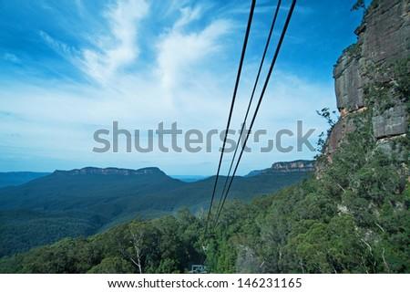 Blue Mountains National Park, Australia - stock photo