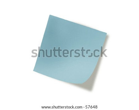 Blue Note - stock photo