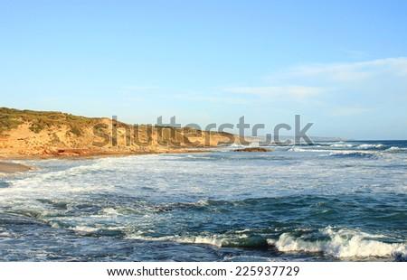 Blue ocean, Australia - stock photo