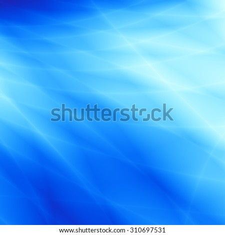 Blue ocean wavy abstract pattern unusual background - stock photo