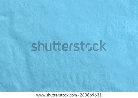 Blue Old Paper Texture. Background - stock photo