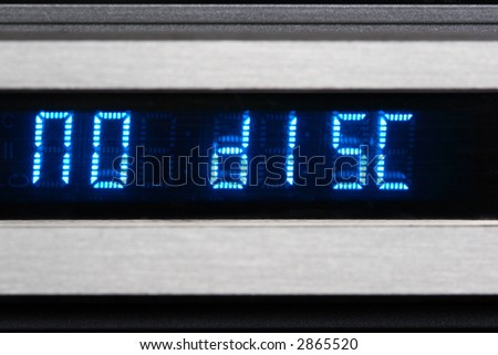 "Blue OLED display show ""no disk"""
