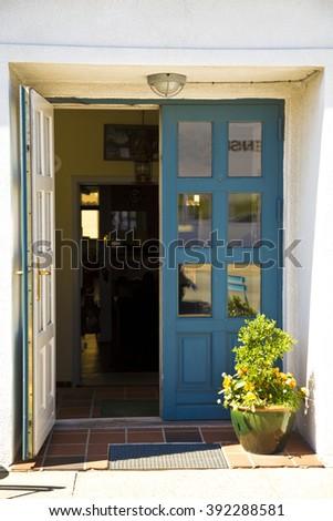 Open Church Doors open church door stock photos, royalty-free images & vectors