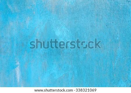 blue paint background - stock photo