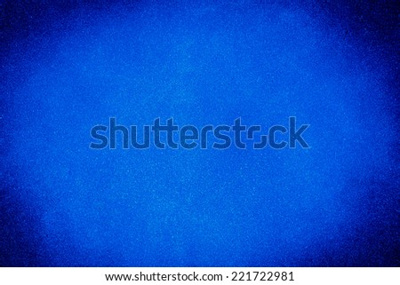 blue paint texture background with dark edges - stock photo