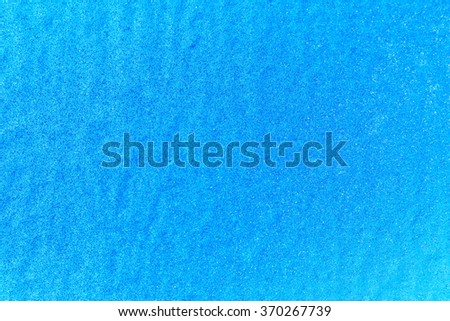 blue paint wall background or texture - stock photo