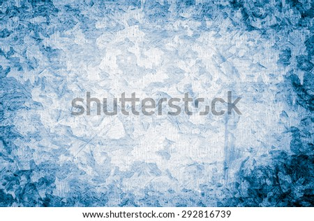 Blue painted background or texture