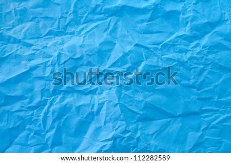 blue paper - stock photo