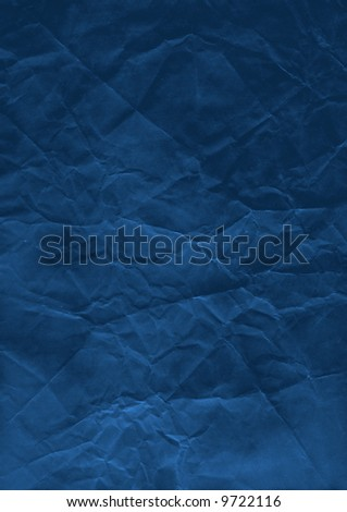 Blue Paper - stock photo