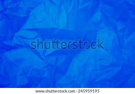 Blue paper texture, Blue paper background,  - stock photo