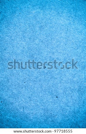 Blue paper texture for background usage - stock photo
