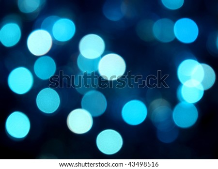 blue party  lights