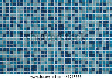 blue pattern - stock photo