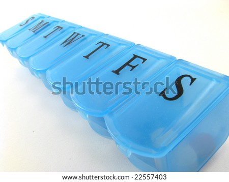 Blue Pill Box