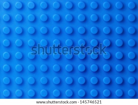Blue plastic construction background  - stock photo