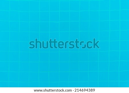 Blue Pool Tile Background texture - stock photo
