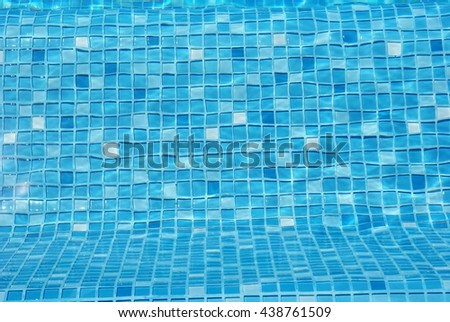 Blue pool water, Abstract Texture, Background