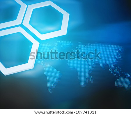 Blue Professional Background