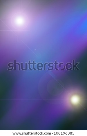 Blue, purple, abstract background based on a real photo of mine. - stock photo
