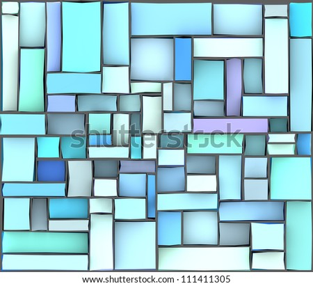 blue purple abstract pattern tile surface backdrop - stock photo