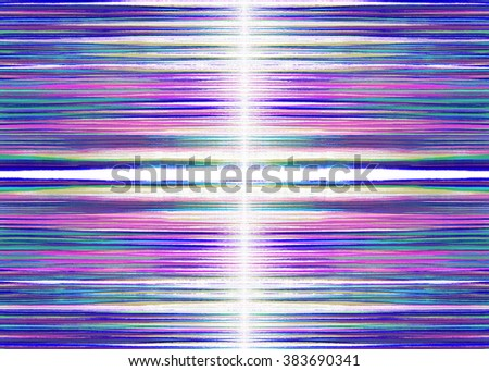 Blue, purple and white ragged lines background