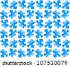 Blue puzzle seamless background for abstract design. Vector version also available in gallery - stock vector