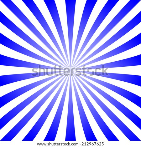 Blue ray design pattern - jpeg version  - stock photo