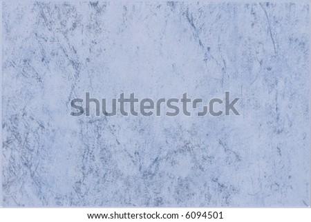 Blue rectangular ceramic tile - stock photo